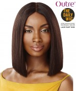 Outre 100% Human Hair The Daily Wig - STRAIGHT BLUNT CUT BOB 12