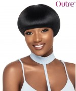 Outre  Human Hair Duby Wig - BOWL FRINGE