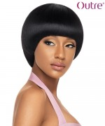Outre Human Hair Full Wig  Duby Wig - OVAL FRINGLE