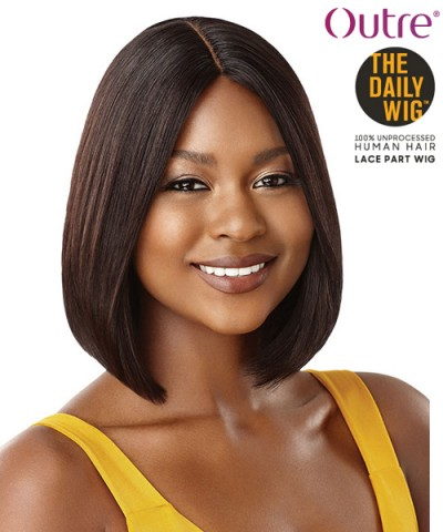 Outre 100% Human Hair The Daily Wig - STRAIGHT BOB