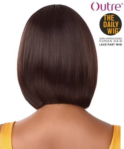 Outre 100% Human Hair The Daily Wig - STRAIGHT BOB 12""