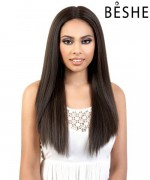 "Beshe Synthetic Lady 6"" Deep Part  Swiss Lace front Wig - LLDP SPIN 7"