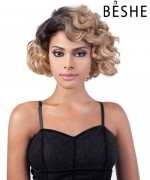 Beshe Synthetic C-curve Deep Part Lace front Wig - DP.SENA