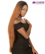New Born Free Synthetic Lace Front Wig - MAGIC LACE CURVED PART  MLC209