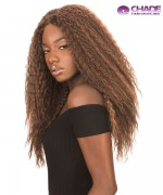 New Born Free Synthetic Lace Front Wig - Magic Lace 360 Frontal Crimp Curl - ML360C