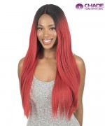 New Born Free Synthetic Lace Front Wig - Magic Lace 360 Frontal Straight 26
