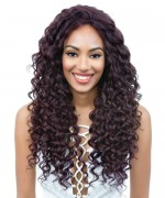 Diana Bohemian Human Blend Hair Free Part Lace Front Wig - HBW DAISY