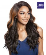 Mane Concept Brown Sugar Human Hair Blend Full Wig - BS149