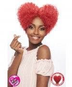 Vanessa Synthetic Full Wig - HEART  FRO