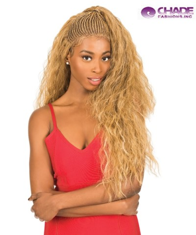 New Born Free Synthetic MAGIC LACE BRAID Lace Front Wig - MLB38
