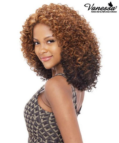 Vanessa Synthetic C Part Lace Front Wig - TOPS C JEKEL