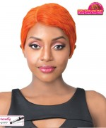 It's a wig Synthetic Real Hair Lint Part Full Wig - ZIA