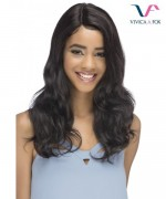 Vivica Fox Remi Human Hair Invisible Side Part Lace Front Wig - SALIDIA
