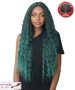 It's a wig Synthetic Lace Front Wig- SWISS LACE CASCADE