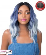 It's a wig Synthetic Lace Front Wig - SWISS LACE SUN KISS