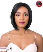 It's a wig Synthetic Lace Front Wig- SWISS LACE ZODY