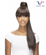 Vivica Fox Synthetic Bang N Pony Ponytail - BP-BRYNN