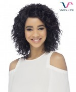 Vivica Fox Remi Human Hair Invisible Side Part Lace Front Wig - ALIKA