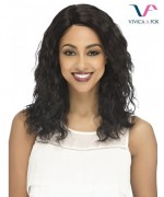 Vivica Fox Remi Human Hair Invisible Side Part Lace Front Wig - ELPASO