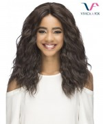 Vivica Fox Synthetic Invisible Side Part Lace Front Wig - KONA