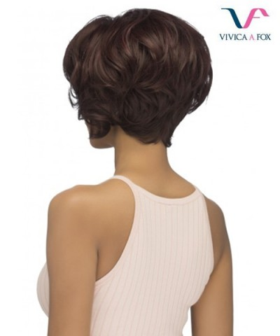 Vivica Fox Synthetic Deep Swiss Lace Lace Front Wig - CARLY
