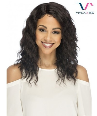 Vivica Fox Remi Human Hair Invisible Side Part Lace Front Wig - NEVADA