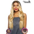Vanessa Human Hair Blend Middle Part Designer Lace Front Wig - TMLA VIKAT