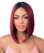 It's a wig Synthetic Quality 2020 Lace Front Wig - Q PART ALEXIS
