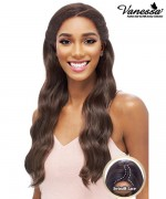 Vanessa Synthetic Middle Reverse C-Part Lace Front Wig - TOPS MRC TOUEI