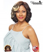 Vanessa Synthetic Reverse C Part Lace Front Wig - TOPS RC FLUDDY