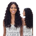 "Shake N Go Naked 100 % Brazilian Human Hair 5"" Lace Part Wig - Natural 301 Loose Deep"