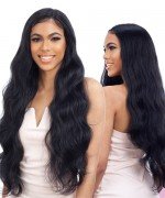 Fretress Equal Freedom Synthetic Free Part Lace Front Wig - 402