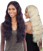 "Shake N Go 100 % Remi Human Hair 5"" Deep Lace Part  Wig - Naked Natural 702 Freedom"
