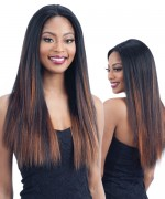 Shake N Go Milky Way Human Blend Lace Front Wig -  HARMONY 114