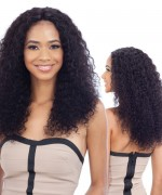 Shake N Go Naked 100 % Remi Human Hair  Lace Front Wig W&W - Natural Deep Wave