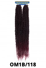 New Born Free Passion Twist Synthetic Braid - GLANCE LARGE BOX BRAID 14