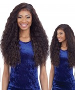Fretress Equl Premium Synthetic Braided Edge Frontal Lace Wig -  BLW 001