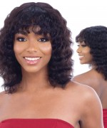 Shake N Go Naked Brazilian Natural Unprocessed Human Hair Full Wig - HAUTY