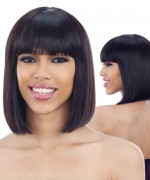 Shake N Go Naked Brazilian Natural Unprocessed Human Hair Full Wig -  MIA