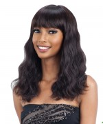 Shake N Go Naked Brazilian Natural Human Hair Full Wig PREMIUM - WAVE (M)