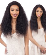 Shake N Go Naked 100 % Remi Human Hair  Lace Front Wig W&W - Natural  Loose Deep