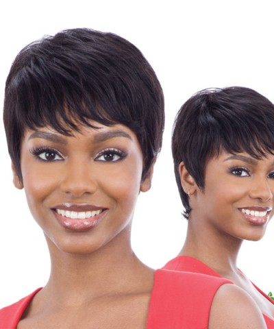 Shake N Go Naked Brazilian Natural Unprocessed Human Hair Full Wig - MARCI