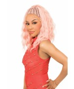 New Born Free Lace Front Wig - MLB40 MAGIC LACE BRAID WIG- BOHEMIAN WAVE Lace Front Wig