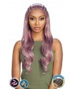 Vanessa Human Hair Blend Swiss Lace Front Wig - TJ3 LIZZY