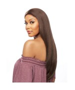 Vanessa Human Hair Blend Designer Middle Part Lace Front Wig - TMDN TWOSY