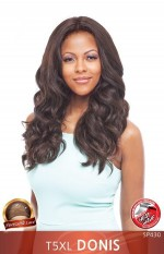 Vanessa T5XL DONIS- Human Hair Blend Honey-5 Hand-Tied Swiss Silk Deep  Lace Front Wig