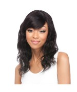 It's a wig Brazilian Hair Part Lace Front Wig - HH BODY WAVE 16