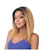 It's a wig Human Hair Lace Front - HH WET N WAVY DEEP