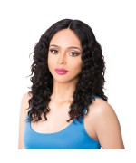 It's a wig Human Hair Lace Front - HH WET N WAVY DIDI