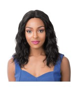 It's a wig Human Hair Lace Front - HH WET N WAVY PACIFIC WAVE